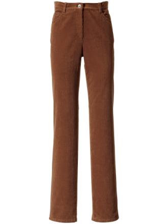 Feminine fit-buks Fra Brax Feel Good brun