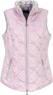 Quiltet vest Fra Peter Hahn rosé