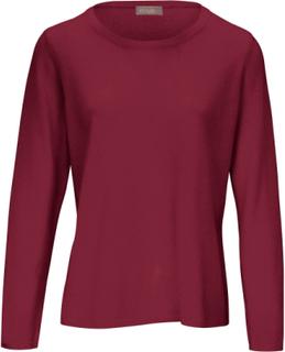 Rundhalsad tröja från include röd