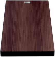Skärbräda i träkomposit (valnöt) till Attika diskbänk, 46x36 cm