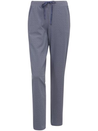 Lange bukser bindebånd satin Fra Schiesser multicolor - Peter Hahn