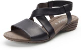 Sandaler i 100% skinn från Gabor svart