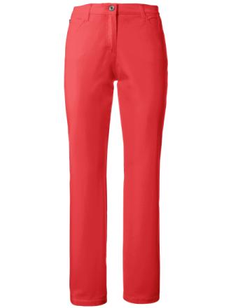 Feminine Fit-byxa, modell Nicola från Brax Feel Good röd