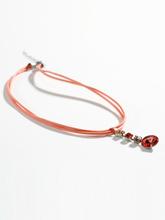 Halsband från Peter Hahn orange