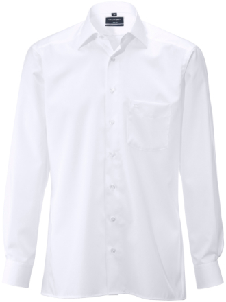 Skjorte Fra Olymp Luxor hvid - Peter Hahn