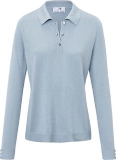 Långärmad tröja från Peter Hahn blå