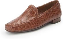 """Flätade skor """"Cordera"""" från Sioux brun"""