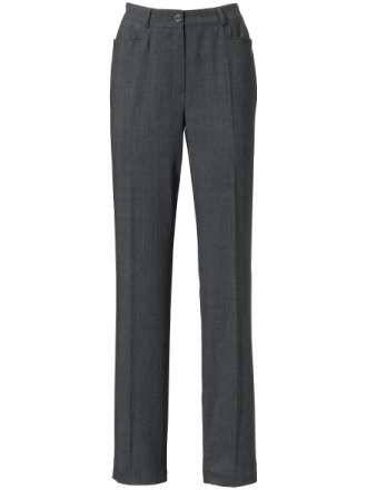 Buks 100% ren ny uld Fra Basler grå - Peter Hahn