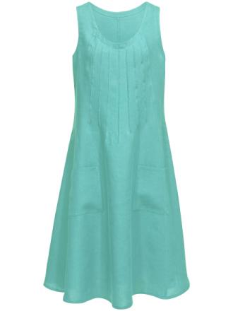 Ärmlös klänning från Anna Aura turkos