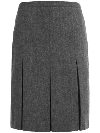 Nederdel 100% ren ny uld Fra Peter Hahn grå - Peter Hahn