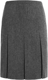 Veckad kjol från Peter Hahn grå