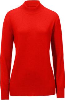 Tröja halvpolo – modell Sabrina från Peter Hahn röd