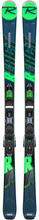 Rossignol Men's On Piste Skis React R4 Sport/Xpress 10 Slalomskidor Blå 154