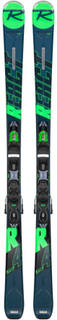 Rossignol Men's On Piste Skis React R4 Sport/Xpress 10 Slalomskidor Blå 154