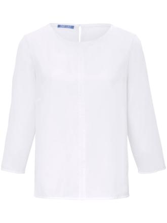 Bluse 3/4-lange ærmer Fra DAY.LIKE hvid - Peter Hahn