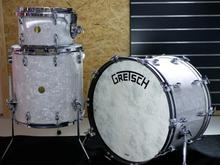 Gretsch Broadkaster White Marine Pearl Drumset