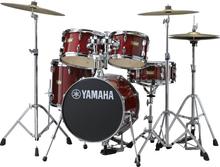 Yamaha Manu Katché Junior Drumset - Red
