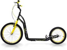 inSPORTline Sparkcykel Disparo, black/yellow, insPORTline Sparkcykel
