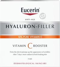 Eucerin Hyaluron-Filler Vitamin C Booster Serum. 3 x 8 ml.