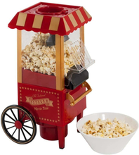 Retro popcornmaskin - skapar den perfekta biokänslan med fettfria popcorn