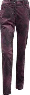 """""""Slim Fit""""-sammetsbyxa, modell SARA från Brax Feel Good röd"""