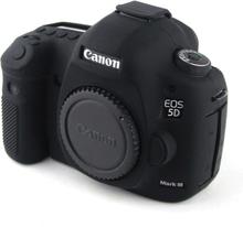 Canon EOS 5D Mark III Beskyttelsesdeksel laget av silikon - Svart