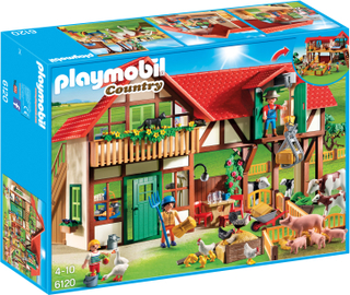 Playmobil Country Stor Bondgård 6120