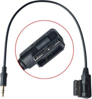 Universal CY CA-026-0.3M Media i AMI MDI til 3,5 audio aux-adapteren