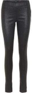 PIECES Skinnende Leggings Kvinder Sort