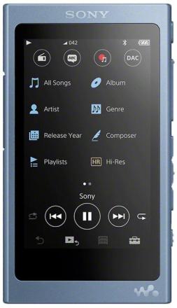Sony NW-A45 høyoppløselig Walkman lyd (3,1 tommers Touch skjerm, 16...