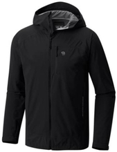 Mountain Hardwear Mens Stretch Ozonic Jacket, Black