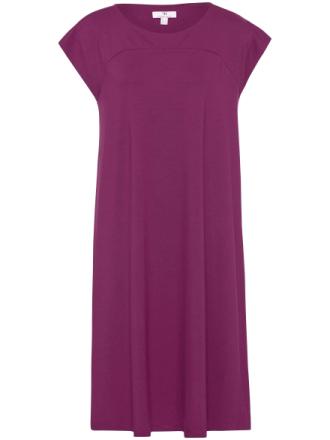 Jerseyklänning holkärm från Peter Hahn cerise