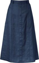 Kjol A-linjemodell från Peter Hahn blå