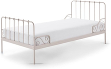 Vipack Alice - Säng 90 x 200 Cm - Rosa