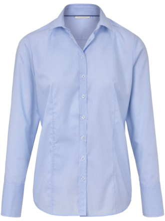 Skjorte lange ærmer Fra Eterna blå