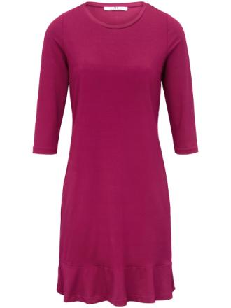Jerseykjole 3/4-lange ærmer Fra Peter Hahn pink - Peter Hahn