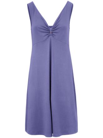 Ärmlös solklänning från Peter Hahn lila