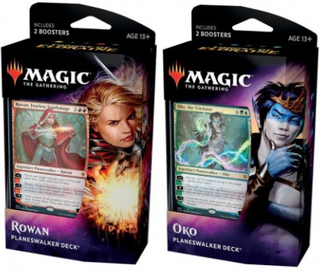 Magic T. Gathering - Throne Of Eldraine Planeswalker Deck 2-Pack