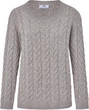 Tröja i 100% ren ny ull från Peter Hahn grå