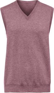 Slipover i 100% kashmir. Modell Peter från Peter Hahn Cashmere rosa