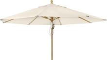 Parma parasoll Natur 3,5 m