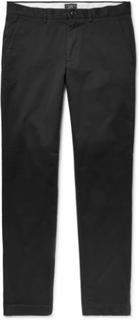 Connor Slim-fit Cotton-twill Chinos - Black