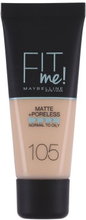 Maybelline Fit Me Matte & Poreless Foundation 105 Natural Ivory 30 ml