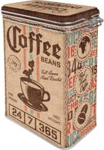 Kaffeburk Coffee sack med knäppläck