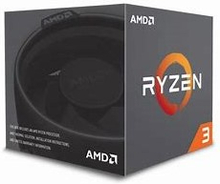 AMD Ryzen 3 1200 Processor with Wraith Stealth Cooler - YD1200BBAEBOX3.4GHz Clock Speed with Boost. Maximum Temperature : 95 degree Celsius4 Cores / 4 Threads10MB Cache ; AMD VR Ready Processors, AVX2, FMA3, XFR Extended Frequency RangeCompatible with Soc