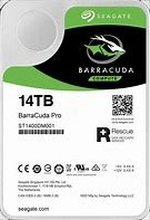 "Seagate 14TB BarraCuda PRO 3.5"" HDD SATA 3.0 7200RPM 256MB CacheLightning-fast performance and titanic storage up to 14 TB give yourdesktop or creative professional system the edge you need to beyour very best. BarraCuda® Pro 3.5-inch drives are also back"