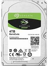 "Seagate 4TB BarraCuda 2.5"" HDD SATA 3.0 5400RPM 128MB CacheSeagate brings over 20 years of trusted performanceand reliability to the Seagate® BarraCuda® 2.5-inchHDDs now available in capacities up to 5 TB."