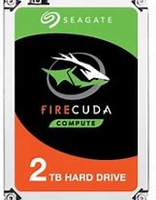 "Seagate 2TB FireCuda 2.5"" SSHD SATA 6Gb/sThe Fastest PC Hard DriveCombining flash technology with a hard drive platform,the FireCuda 2.5 flash-accelerated hard driverepresents the fastest 2.5-inch hard drive available.Flash-accelerated technology delivers"