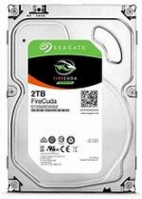 "Seagate 2TB FireCuda 3.5"" SSHD SATA 6Gb/sFireCuda 3.5-inch solid state hard drives blend SSDtechnology with an HDD platform for the instant-onperformance and capacity you need.Smart 1TB and 2TB capacities with onboard Flash memory.Save time with a drive t"