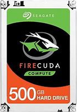 "Seagate 500GB FireCuda 2.5"" SSHD SATA 6Gb/sThe Fastest PC Hard DriveCombining flash technology with a hard drive platform,the FireCuda 2.5 flash-accelerated hard driverepresents the fastest 2.5-inch hard drive available.Flash-accelerated technology delive"